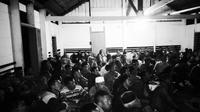 Melihat perjuangan kaum Samin di kaki gunung Singgahmata (Liputan6.com/ Rino Abonita)