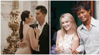Deretan pernikahan yang sempat viral di media sosial pada 2018. (dok. Instagram @njsmakeup/https://www.instagram.com/p/BqyrIXxnLup/ @pollyoddsocks/https://www.instagram.com/p/BrfeYaBltyS/Asnida Riani)