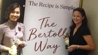 Acara Minyak Zaitun Bertolli menghadirkan Gwen Winarno dan nutrisionis Emilia Achmadi. (Liputan6.com/Henry)