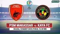 Piala AFC - PSM Makassar Vs Kaya FC (Bola.com/Adreanus Titus)