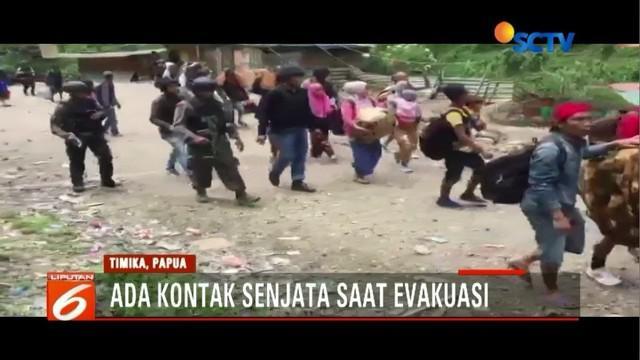 Tim Gabungan TNI-Polri berhasil mengevakuasi ratusan sandera di Tembagapura, Papua, dengan selamat, meski sempat ada kontak senjata.