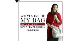 What's In My Bag Mona Ratuliu|New Normal Edition