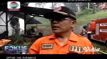 Sebuah pabrik pengolahan teh milik PTPN XII, di Lumajang, Jawa Timur, terbakar pada Senin pagi. Banyaknya material mudah terbakar membuat sulitnya proses pemadaman. Sementara di Nganjuk, kebakaran juga meludeskan sebuah rumah milik warga.