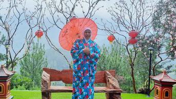 Pakai Kimono, Khofifah Kenalkan Taman Wisata Genilangit Magetan ke Dubes Jepang