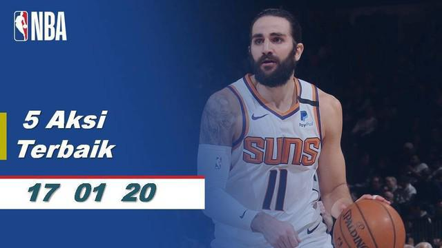 Berita Video 5 Aksi Pemain Terbaik NBA 17 Januari 2020