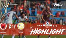 Laga lanjutan Shopee Liga 1, PSM Makassar VS Barito Putra FC berakhir dengan skor 2-1.