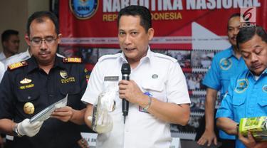 BNN dan Bea Cukai Gagalkan Penyelundupan 45,5 kg Sabu