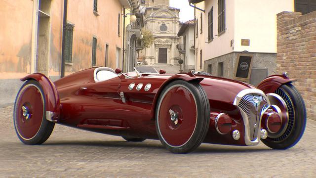 Punya Tampang Klasik, Mobil Balap ini Ternyata Bertenaga Listrik (Carscoops)