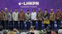 Penghargaan LHKPN merupakan penghargaan untuk instansi dan lembaga yang secara rutin melaporkan kekayaannya ke KPK.