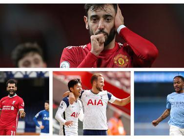 FOTO: 5 Raja Gol dan Assist Premier League di Semua Ajang Kompetisi Sejak Debut Bruno Fernandes di Manchester United