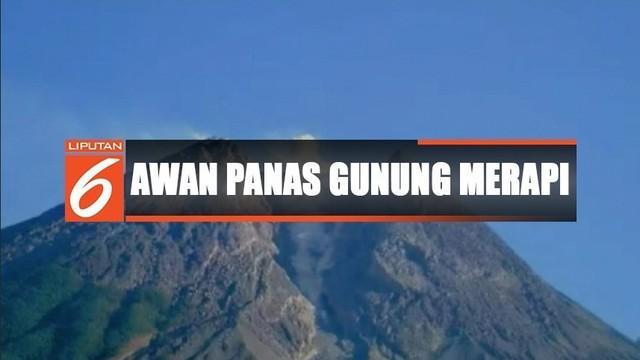 Berdasarkan data BPPTKG Yogyakarta, sejak Senin malam hingga pagi tadi telah terjadi 4 kali guguran dengan jarak luncur hingga 600 meter.