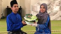 Muhammad Norfaizad Farhan Nor Hasyimi dan Anna Farhana Tanaka (Sumber: utusan)
