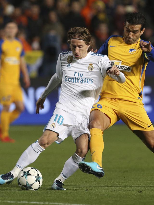 Real Madrid, APOEL Nicosia, Liga Champions