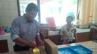 Temuan 10 peripih sudah diamankan di kantor BPCB Yogyakarta untuk diteliti kembali. Sebab temuan ini berbeda dengan peripih umumnya.