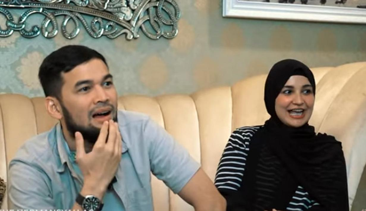 Teuku Wisnu dan Shireen Sungkar (Youtube/The Hermansyah A6)