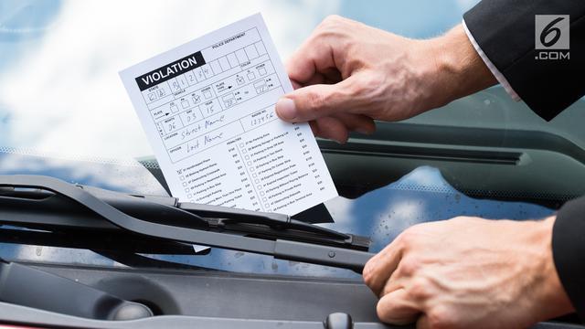 Tilang Kendaraan Mobil