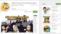Meriahkan Ramadan Dengan 5 Stiker WhatsApp Lucu dan Kreatif Ini