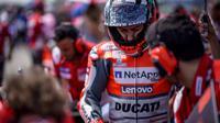 Pembalap Ducati, Jorge Lorenzo. (Twitter/Ducati Motor)