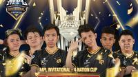 RRQ Hoshi juara MPL Invitational 4 Nation Cup 2020. (Dok. MPL ID)