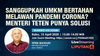 Live Streaming: Sanggupkah UMKM Bertahan Melawan Pandemi Corona?