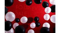 "Sebagai wujud selebrasi ke-4, Bobobobo.com menggelar pesta diskon yang bertajuk ""Four-Ever Sal (Not)""."