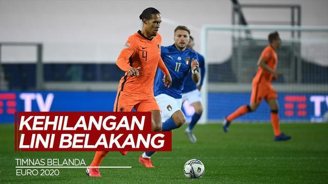 Berita Video Tanpa Virgil van Dijk dan Jasper Cillessen di Euro 2020 (2021), Belanda Khawatirkan Lini Belakang