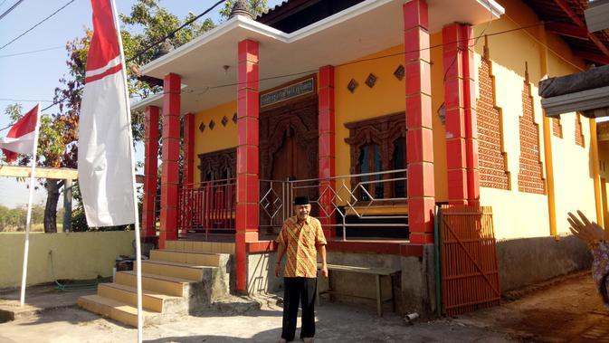 Wihara di Desa Tanjungrejo, Kudus, Jawa Tengah yang berada di tengah pemukiman warga beragama Islam, Kristen dan Katolik. (Liputan6.com/Rita Ayuningtyas)