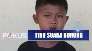 Bocah asal Blora, Jawa Tengah, mahir tiru berbagai macam suara burung tanpa diajari.
