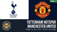 ICC 2019 - Tottenham Hotspur Vs Manchester United (Bola.com/Adreanus Titus)