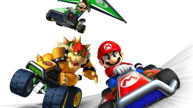 Game racing Mario Kart akan hadir di smartphone? Bagaimana ya tampilan gameplay-nya?