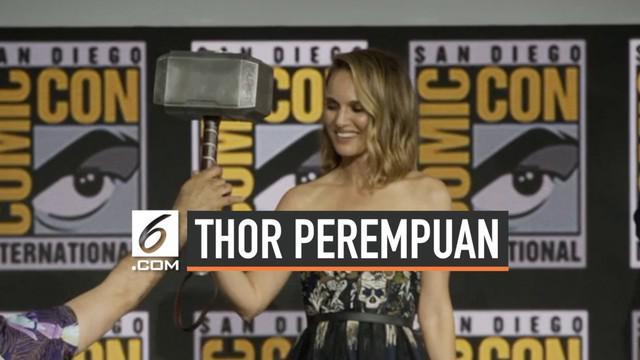 Aktris Natalie Portman resmi ditunjuk Marvel menjadi pemeran Jane Foster, yang nantinya akan menjadi Thor perempuan.