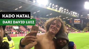 Berita Video David Luiz Berikan Kado Natal Indah Untuk Fans Chelsea