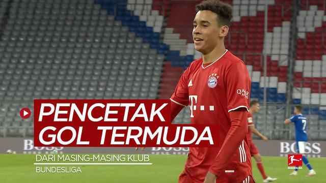 Berita video para pencetak gol termuda dari masing-masing klub di Bundesliga, termasuk wonderkid Bayern Munchen, Jamal Musiala.