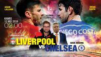 Liverpool vs Chelsea (Liputan6.com/Abdillah)