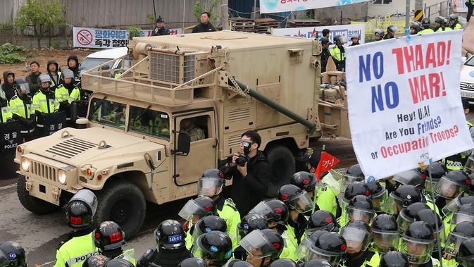 Ini Cara Kerja Sistem Pertahanan Rudal THAAD yang ...