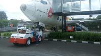 Jogja Airport Resto menawarkan sensasi menikmati aneka kuliner rumahan di dalam pesawat ditemani pramugari (Liputan6.com/ Switzy Sabandar)
