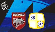 BRI Liga 1 - Borneo FC Vs Barito Putera (Bola.com/Adreanus Titus)