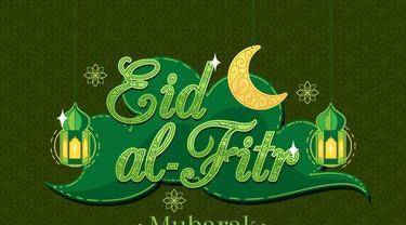 Ilustrasi ucapan, Idul Fitri