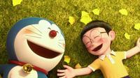 Doraemon the Movie: Stand by Me, film ini menceritakan tentang Doraemon yang diutus oleh Sewashi untuk membahagiakan Nobita. Akhirnya Nobita pun bahagia dan Doraemon pun harus meninggalkannya. (Foto: variety.com)