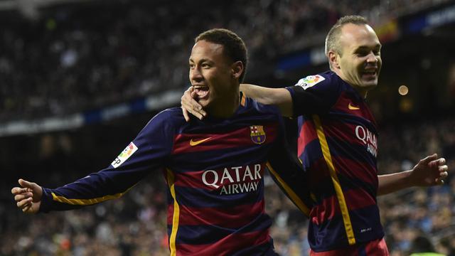FOTO: Beragam Selebrasi Emosional Neymar bersama Barcelona