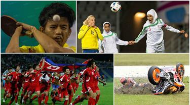 Berikut 20 foto olahraga terbaik pada periode 17 Oktober hingga 23 Oktober 2016 yang dipilih oleh redaksi Bola.com.