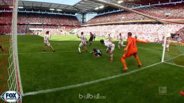 Bayern Munich bangkit dari tertinggal untuk menang 3-1 atas tim juru kunci, Koln yang sudah pasti terdegradasi dalam lanjutan Bund...