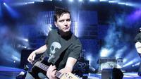 Bassis Blink-182. Mark Hoppus