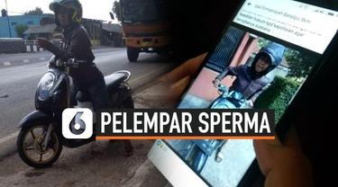 Polisi menetapkan pria pelempar sperma di Tasikmalaya sebagai tersangka. Ia dijerat dengan UU pornografi dan diancam hukuman penjara 10 tahun.