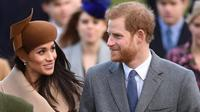 Meghan Markle disebut-sebut tak memilih pengiring pengantin yang akan menemaninya saat menikah dengan Pangeran Harry (AP Photo)