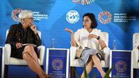 Sri Mulyani di acara IMF-WBG Annual Meetings 2018. (dok. Instagram @smindrawati/https://www.instagram.com/p/BovCtHLHBrm/?utm_source=ig_web_copy_link/Asnida Riani)