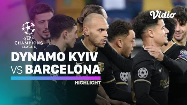 Berita video, Barcelona kalahkan Dynamo Kyiv 4-0 di matchday keempat Grup G Liga Champions 2020/2021