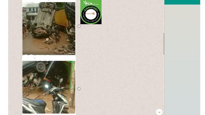 Cek Fakta Liputan6.com menelusuri klaim foto mobil korban banjir di Bekasi pada 20 Februari 2021