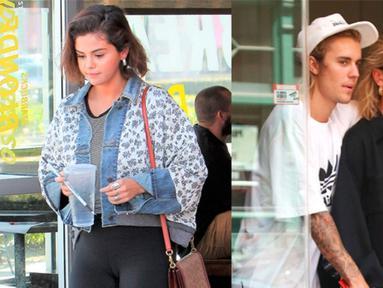 Selena Gomez terbiasa dengan fakta bahwa Justin Bieber sudah siap untuk menghabiskan hidupnya bersama dengan Hailey Baldwin. (REX/Shutterstock/HollywoodLife)