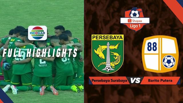 Berita video highlights Shopee Liga 1 2019 antara Persebaya Surabaya melawan Barito Putera yang berakhir dengan skor 2-2, Selasa (9/7/2019).